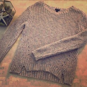 Blush pink knit sweater by Jessica Simpson